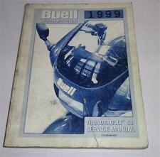 Werkstatthandbuch / Workshop Manual Harley Davidson Buell S3 Thunderbolt 1999