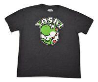 Super Mario Mens Yoshi The Turtle Shirt New 2XL