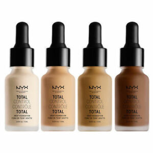 NYX Total Control Drop Foundation ~ New In Box ~ Choose from 26 Shades ***
