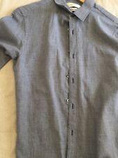 Camica da uomo color grigio di Mauro Grifoni taglia 38