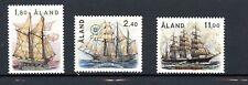 Aland MNH Set #31-33 Sailing Ships  1988 H055