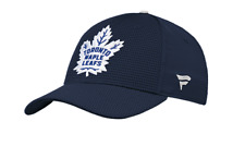 Toronto Maple Leafs Rinkside Pro Authentic Navy Blue NHL Hockey Flex Fit Hat Cap