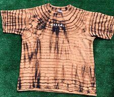 Nine Inch Nails 2000 Fragility Tour Bleached T Shirt Size XL All Sport Cotton