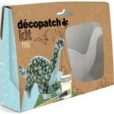 Avenue Mandarine Decopatch Mini Dinosaurs Kit - Kids Art Decoupage Kit