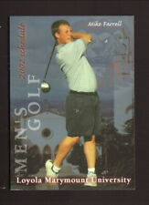 Loyola Marymount Lions--2002 Golf Pocket Schedule
