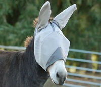 CASHEL FLY MASK CRUSADER HORSE STANDARD COVERS EARS MULE SUN PROTECTION