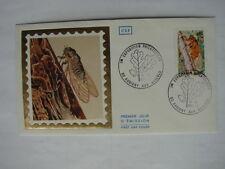 FDC 1977 1ère EXPO PHILATELIQUE AUBIGNY AUX KAISNES (15-16/10/1977)