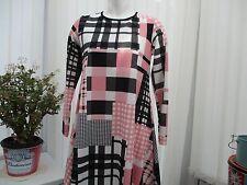 """miss look""ladies little white black and pink dress  sz 8/10 b.n.w.t."