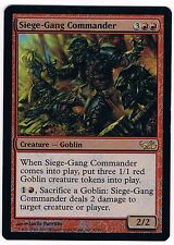 MTG.Magic the Gathering.Siege-Gang Commander.NM.Duel Decks Elves vs Goblins.FOIL