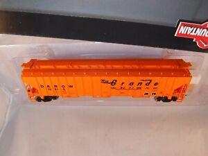 "Intermountain HO DRGW 54' PS 4750 CF Cov Hopper Orange ""The Action Road"" #10915"