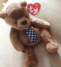 ORIGINAL TY BEANIE BABY Hero The Bear ear tag and tush tag