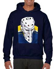 St. Louis Blues Goalie Mask Mike Liut Hockey Hoodie