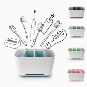 Electric Toothbrush Holder Large Bathroom Caddy Storage Multifunction Organizer