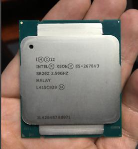 Intel Xeon E5-2678v3 SR20Z 12 Core 24 Threads 2.5G CPU E5-2680V3 CPU