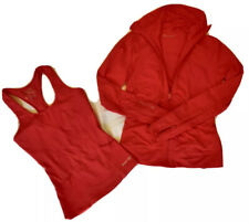 Blockout Hot Pink Gym Wear - Matching jacket and top - Size Small