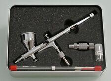 New Royalmax 0.2mm 180 aerografo doppia azione  + 0.3 aghi ed ugelli + rapido It