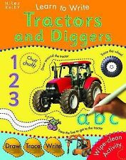 Learn to Write Tractors and Diggers - WIPE CLEAN
