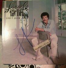 Lionel Richie Signed Commodores Autograph B