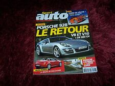 SPORT AUTO 01/2006 n°528 AMG / LOTUS Exige / MAYBACH 57S / AUDI S8 / Focus ST //