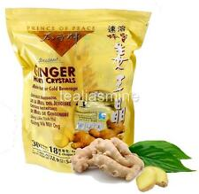 Prince of Peace Instant GINGER HONEY CRYSTAL Hot or Cold Beverage 30 Bags of 18g