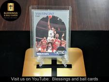 1990-91 NBA Hoops Sam Vincent (MICHAEL JORDAN wearing #12) #223