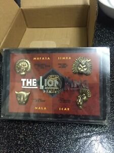 Disney The Lion King Musical 5 Pin Set