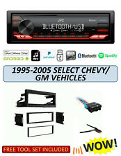 JVC KD-X270BT Stereo Kit for Select 1995-2005 GMC CHEVROLET Vehicles, Remote App