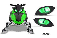 Snowmobile Headlight Eye Graphics Kit Decal Cover For Arctic Cat Firecat ECLPS G