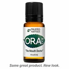 Fluoride Free Toothpaste Mouthwash Alternative Supports Healthy Teeth 15mL