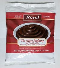 28oz Royal Chocolate Pudding & Pie Filling Mix, No Bake, Instant
