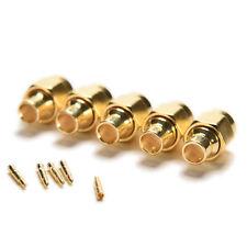 """5x SMA Male Plug Solder pour semi-rigide RG402 0.141 """"Câble Connecteurs"""