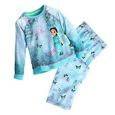 Jasmine Disney Animators' Collection Pajama Gift Set for Girls Size 7/8