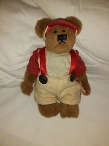"""Boyds Bear Archive Collection """"Yogi"""" Baseball Bear ~RETIRED IN 1997~ 7"""" jointed"""