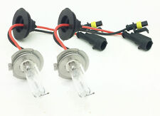 PAIR OF 100W REPLACEMENT H7 XENON HID BULBS 5000K