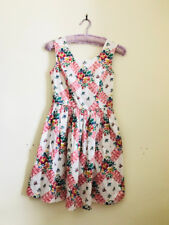 Floral Dress With Tags Size 10