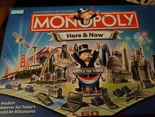Monopoly Here & Now Edition Complete