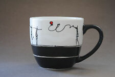 Hand Painted Ceramic Coffee/Tea Mug **In Love**