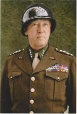WW2 -  Portrait du Général américain Patton