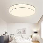 LED Ceiling Light Modern Square 12/15/18/24W Living Room Bedroom Surface Mount