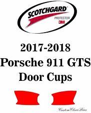 3M Scotchgard Paint Protection Film Clear Pre-Cut Kit 2017 2018 Porsche 911 GTS