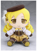 Madoka Mageka Plush Doll Stuffed toy Tomoe Mami 20cm Gift Anime from JAPAN