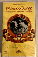 Waterloo Bridge VHS (Clamshell) Vivien Leigh, Robert Taylor; Mervyn LeRoy 1985