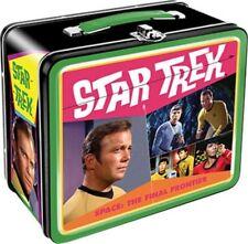 Classic Star Trek Gold Key Comic Retro Photo Cover Tin Tote Lunchbox, NEW UNUSED