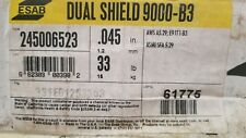 ESAB Dual Shield 9000-B3. .045 DIAMETER 33lb  WELDING WIRE