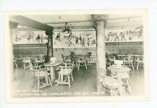 Habitant Room RPPC Alpine Inn—Sainte Marguerite QUEBEC Rare Vintage Photo 40s