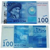 Pick 26 Kirgisien /  Kyrgyzstan 100 Som 2009  Unc. / 8128047###