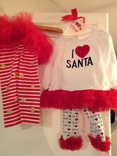 mudpie girls christmas outfit and tutu pants
