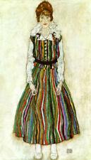 Canvas Portrait Art Prints Egon Schiele