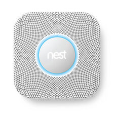 Nest S3006WBUS Battery-powered Smoke and Carbon Monoxide Detector White
