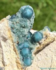 BLUE Wavellite_HIGH END___NEW FIND___LARGE EXTREMELY VERY , VERY RARE___Arkansas